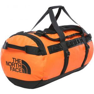 The North Face BASE CAMP DUFFEL-M oranžová M - Cestovní taška