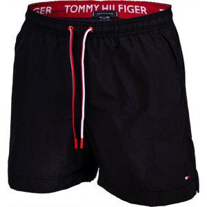 Tommy Hilfiger MEDIUM DRAWSTRING černá S - Pánské šortky do vody