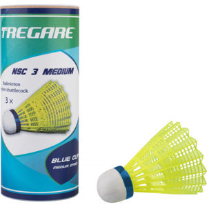 Tregare NSC 3 MEDIUM YELLOW  NS - Badmintonové míčky