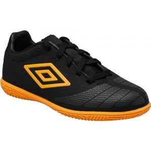 Umbro UX ACCURO CLUB JNR IC černá 6Y - Dětská sálová obuv