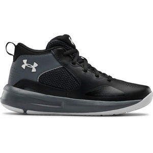 Under Armour GS LOCKDOWN 5  3.5 - Dětská basketbalová obuv-Under Armour