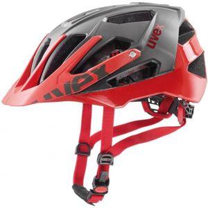 Uvex HELMA QUATRO šedá (56 - 60) - Cyklistická helma