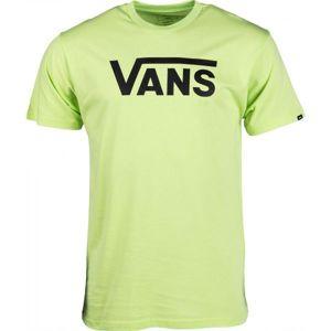 Vans MN VANS CLASSIC světle zelená M - Pánské tričko
