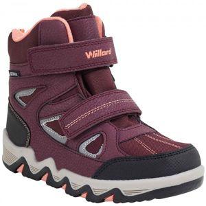 Willard CANADA vínová 30 - Dětská zimní obuv