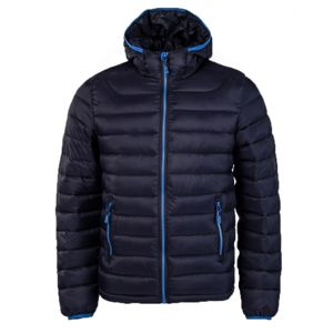 Willard LESS tmavě modrá 122 - Dětská prošívaná bunda