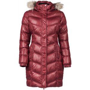 Willard IZZY červená XL - Dámský prošívaný kabát