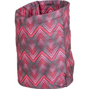 Willard KISSIE růžová UNI - Multifunkční šátek