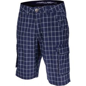 Willard RUDA modrá M - Pánské plátěné šortky