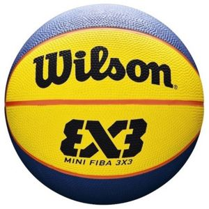 Wilson FIBA 3X3 MINI RUBBER BSKT - Mini basketbalový míč