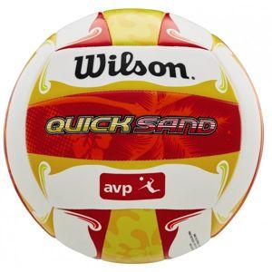 Wilson AVP QUICKSAND ALOHA VB červená NS - Volejbalový míč
